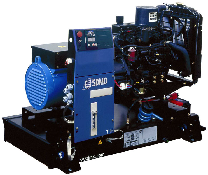 Дизельный генератор Sdmo T16k nexys sdmo hx 6000s