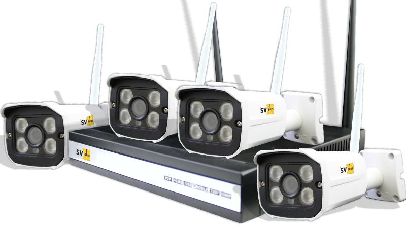Комплект видеонаблюдения Svplus Svip-kit304s