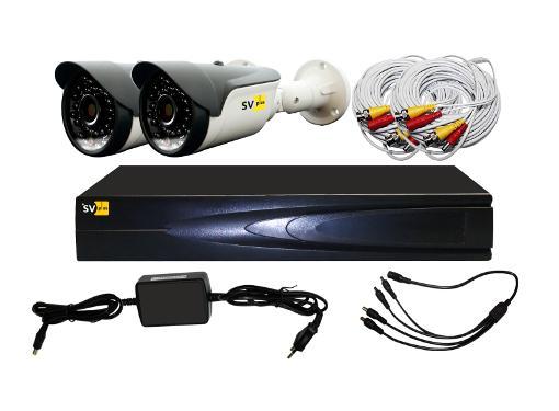 Комплект видеонаблюдения SVPLUS VHD-Kit112S