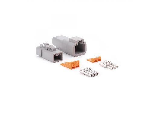 Универсальный двухконтактный коннектор AUTOPROFI AL 2PK