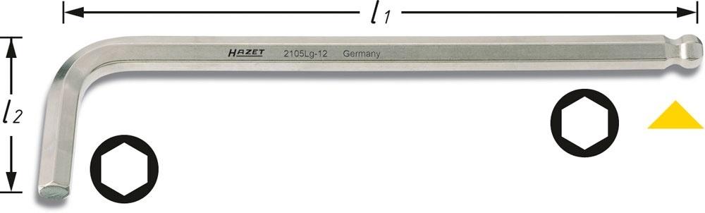 Ключ Hazet 2105lg-06 женские кеды c362 1 2105