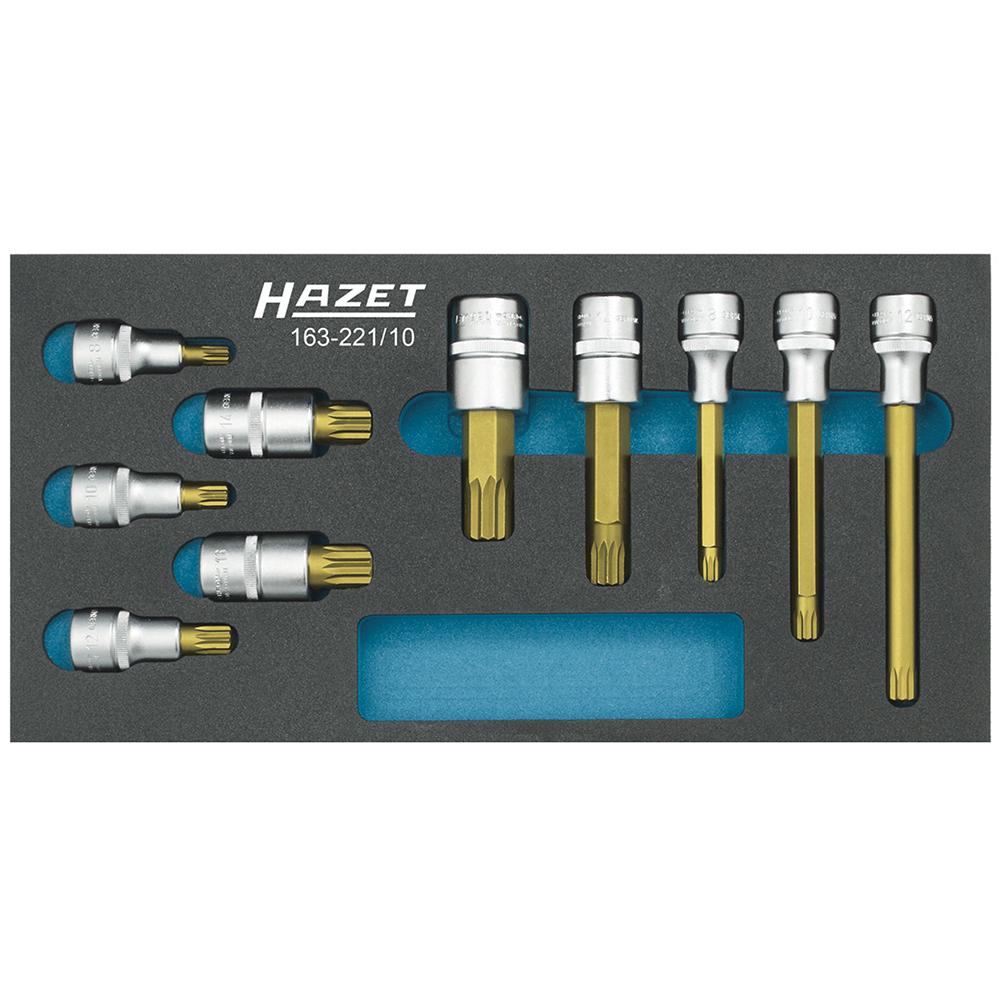Набор головок Hazet 163-222/13 набор отверток hazet 163 182 9 torx