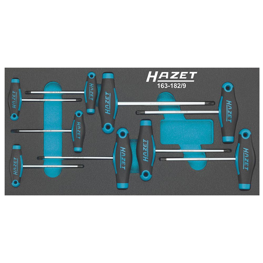 Набор отверток Hazet 163-182/9 torx набор отверток hazet 163 182 9 torx