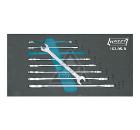 Набор ключей HAZET 163-95/8 (6 - 22 мм)
