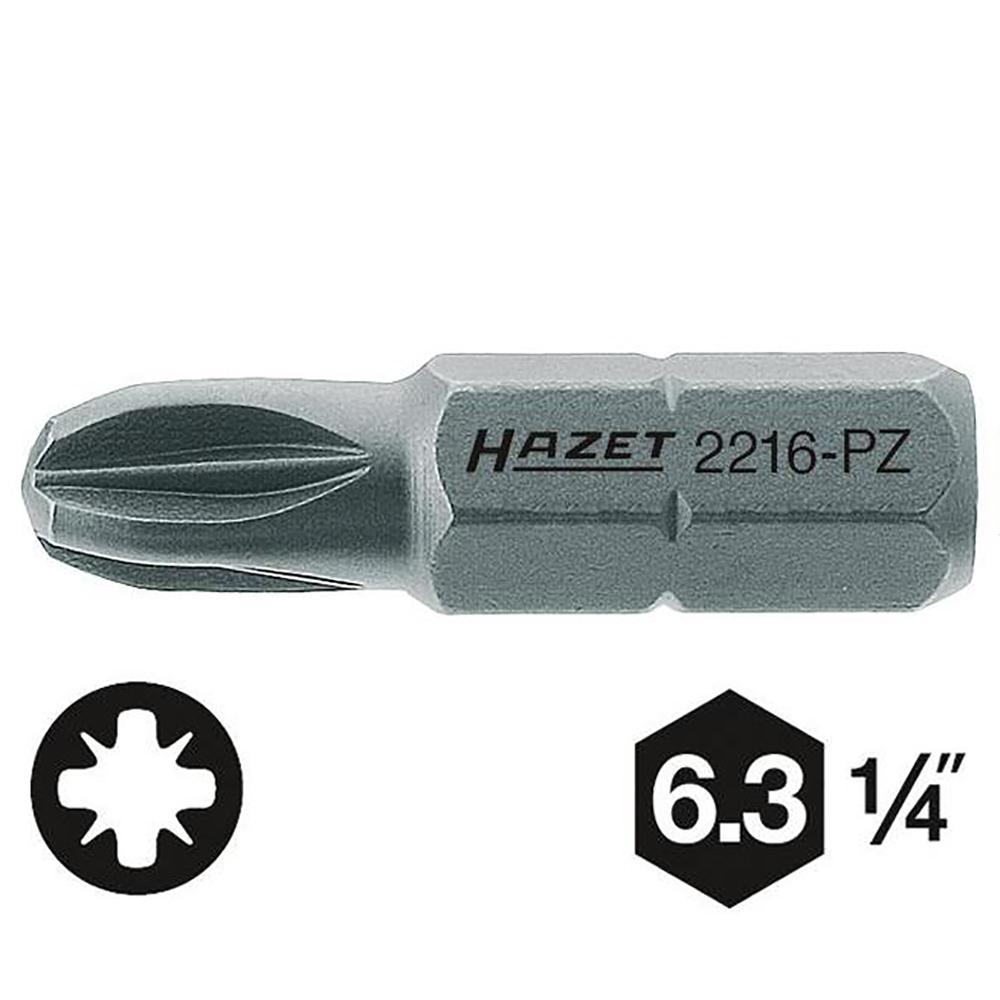 Бита Hazet 2216-pz1 бита makita pz1 25мм 3шт