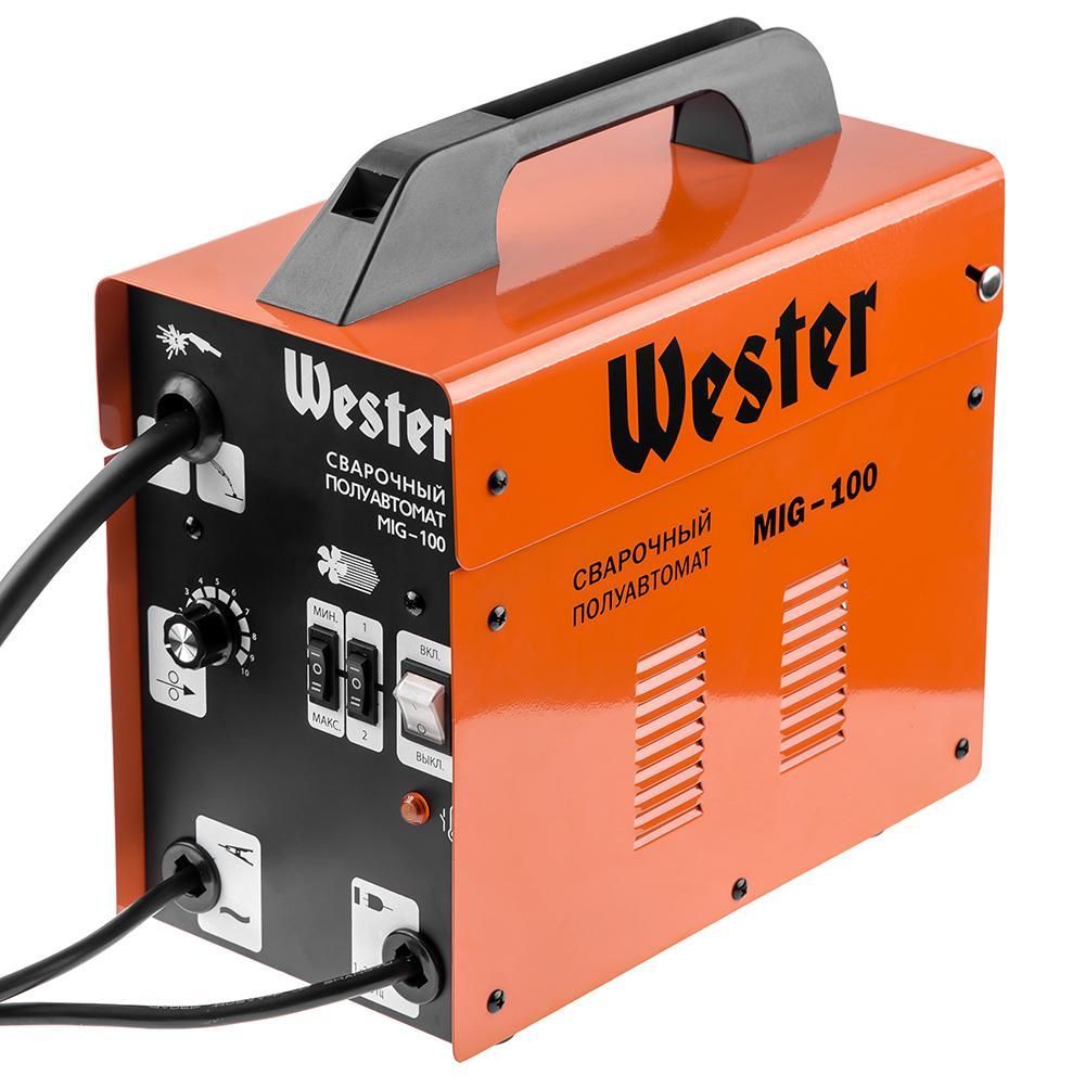 Сварочный полуавтомат Wester Mig-100 сварочный полуавтомат foxweld гранит универсал