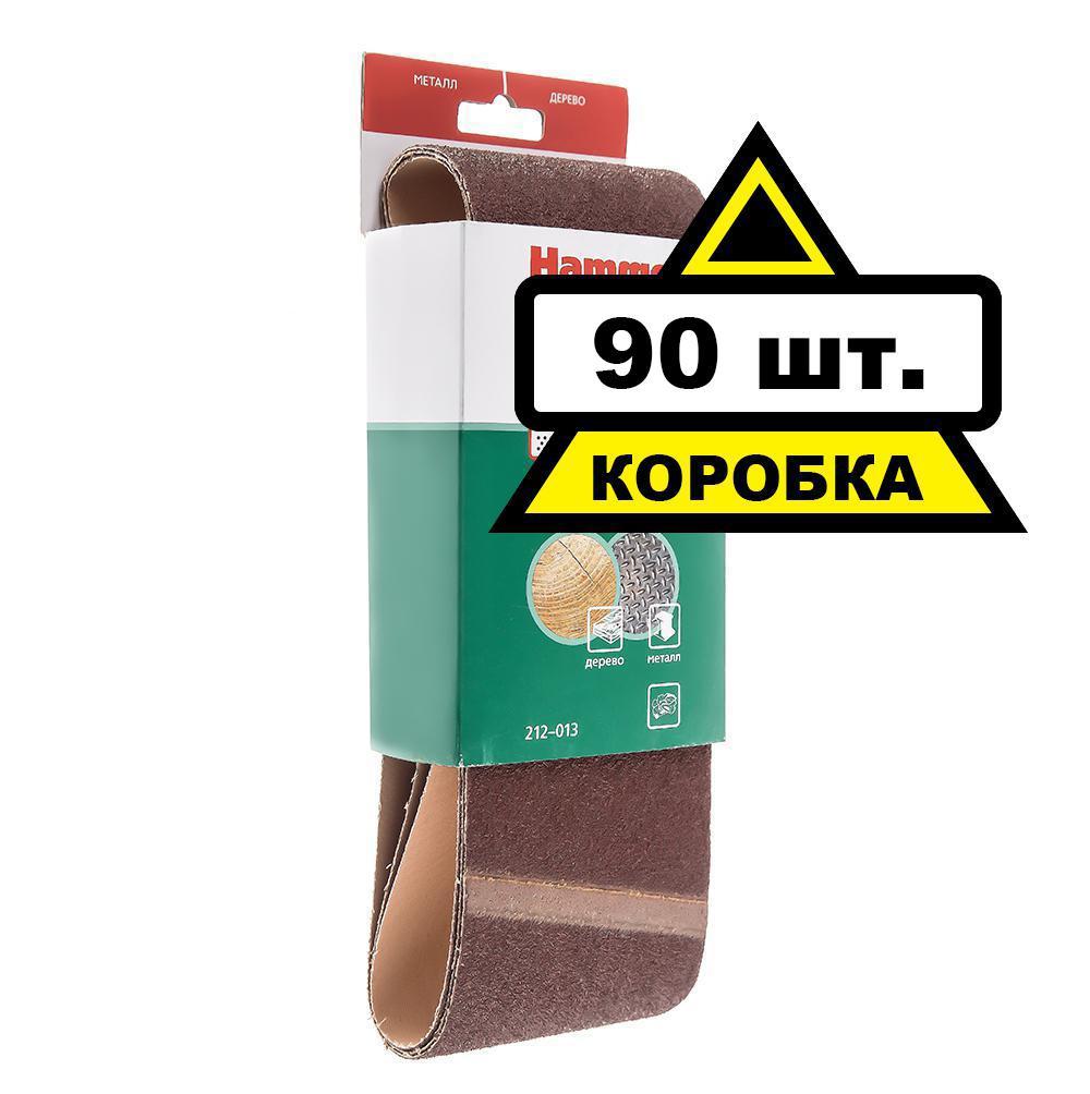 Лента шлифовальная бесконечная Hammer 100 Х 610 Р 40 3 шт. Коробка (30шт.) лента шлифовальная бесконечная hammer flex 100 х 610 р 100 3шт