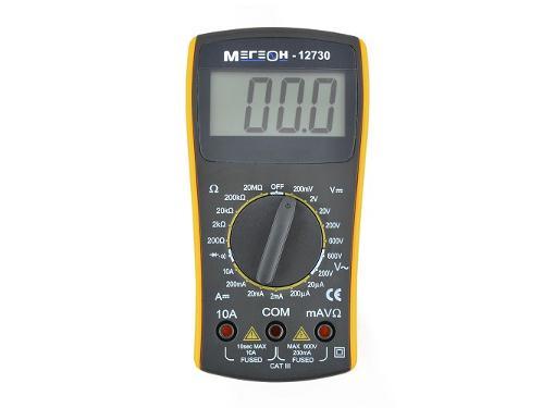Мультиметр цифровой МЕГЕОН 12730 карманный
