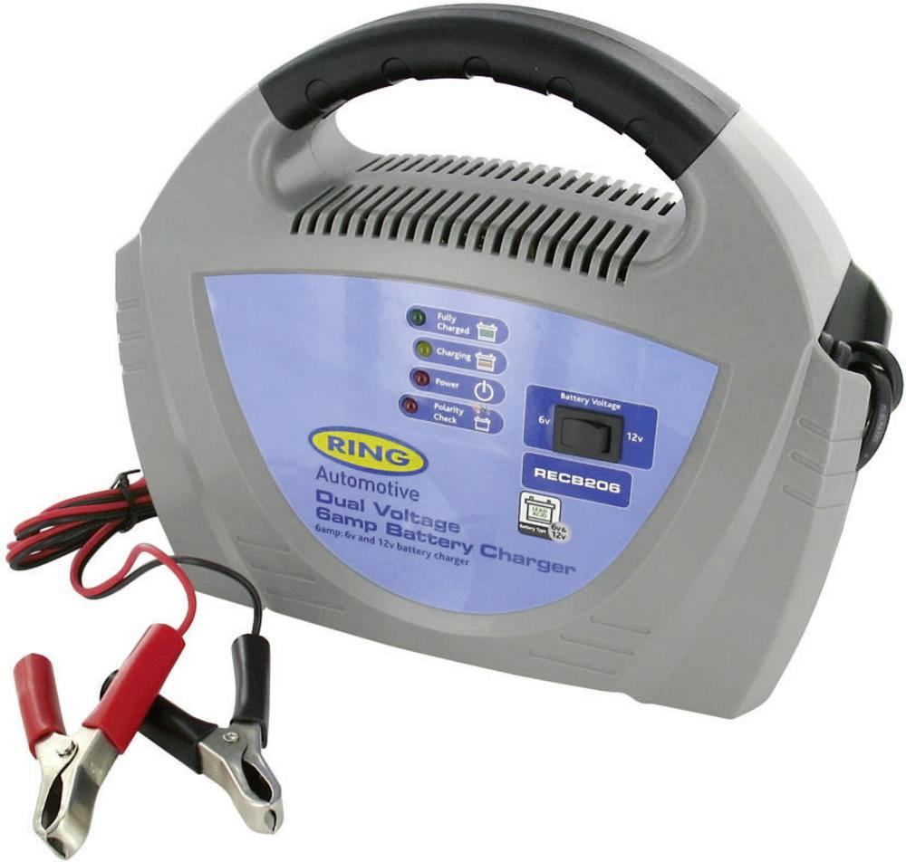 Зарядное устройство Ring automotive Recb206 аккумулятор для мотоцикла 6 вольт