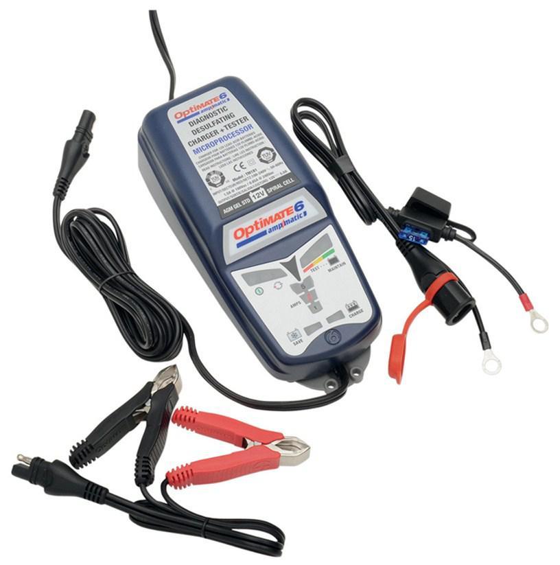 Зарядное устройство Optimate Tm180sae optimate 6 кабель в прикуриватель 12в мото din и авто sae optimate o2