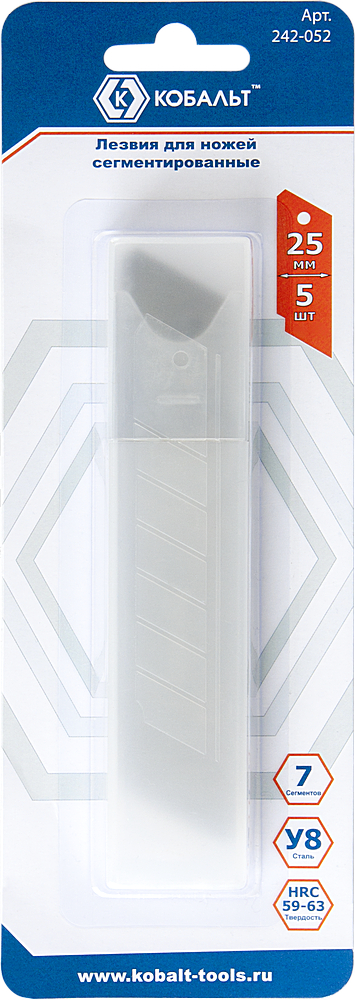 Лезвие для ножа КОБАЛЬТ 242-052 фонарь maglite 2d серебристый 25 см в блистере 947202
