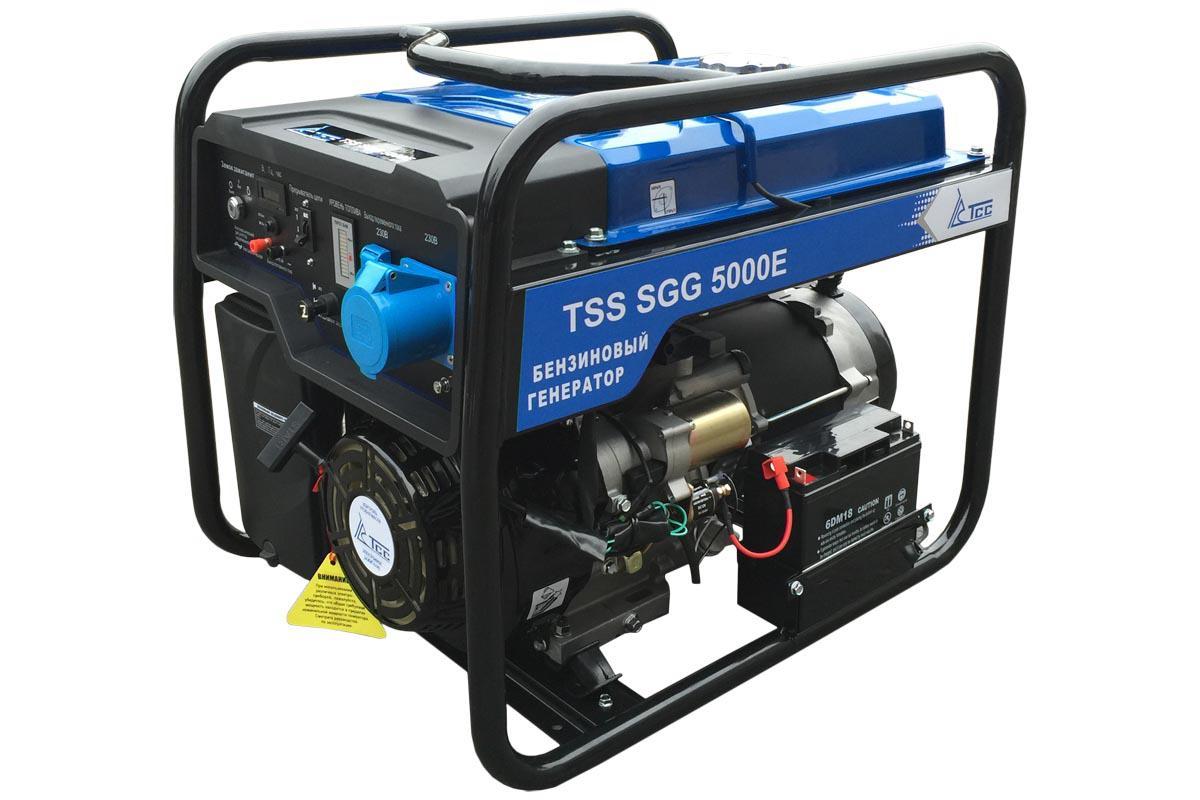 Генератор ТСС Tss sgg 5000 e 014970 бензиновый отбойный молоток тсс tss gjh95 207000