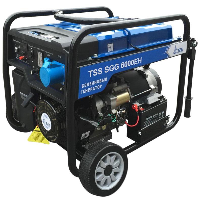 Генератор ТСС Sgg 6000 eh 014975 генератор бензиновый tss sgg 5000eh