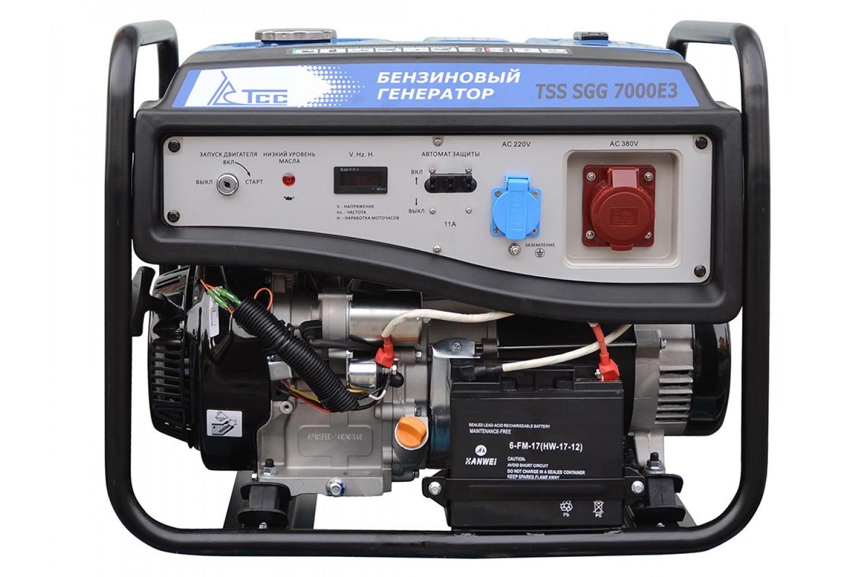 Генератор ТСС Tss sgg 7000 eh3 014991 генератор бензиновый tss sgg 7500e