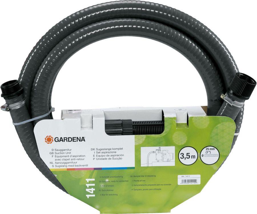 Шланг Gardena 01411-20 шланг сочащийся gardena 01362 20