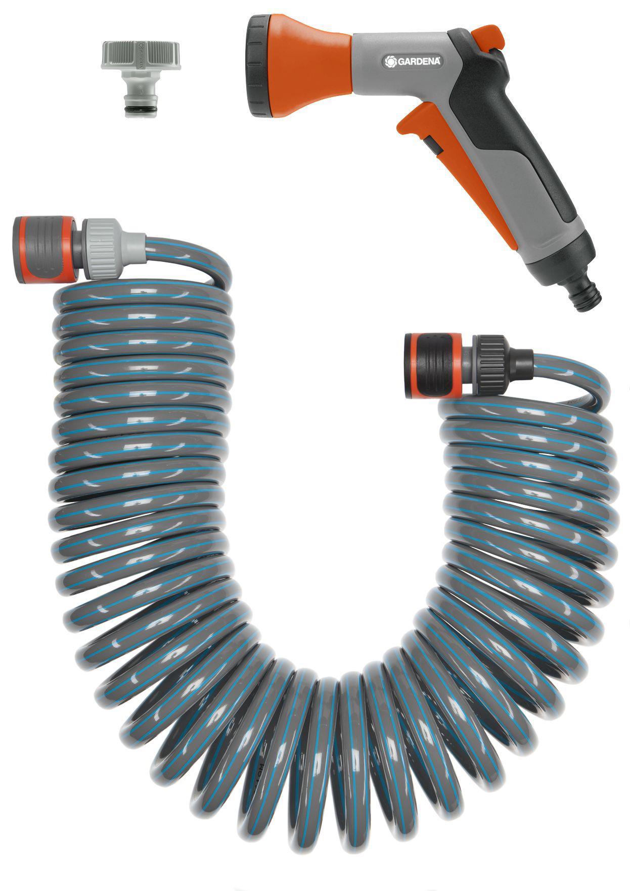 Спиральный шланг с фитингами и наконечником Gardena 18424-20 gardena 01355 20 000 00