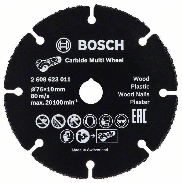 Круг отрезной Bosch 76х1х10 (2.608.623.011)