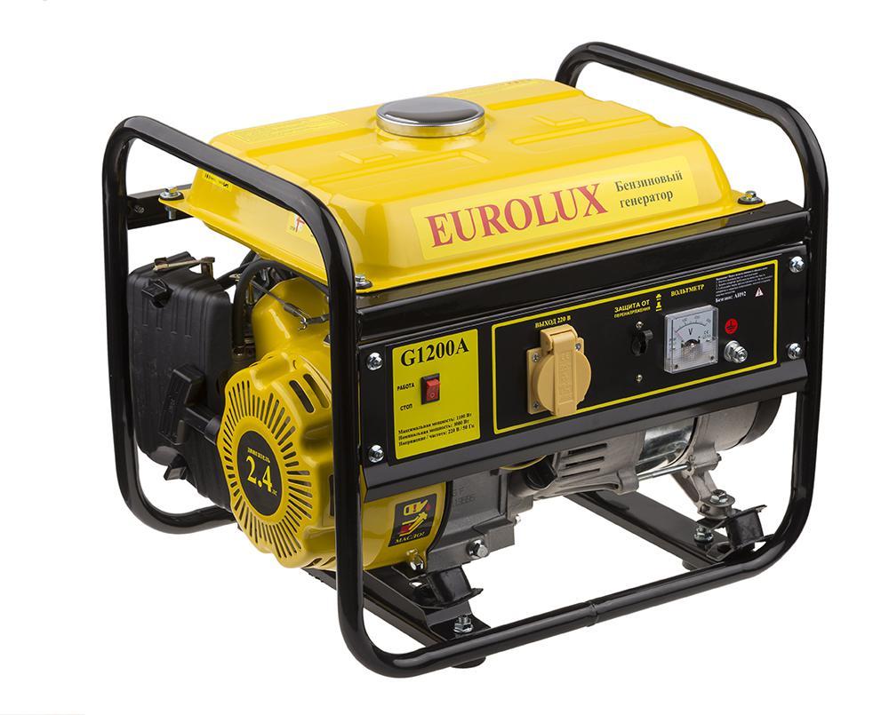Генератор Eurolux G1200a генератор бензиновый eurolux g3600a