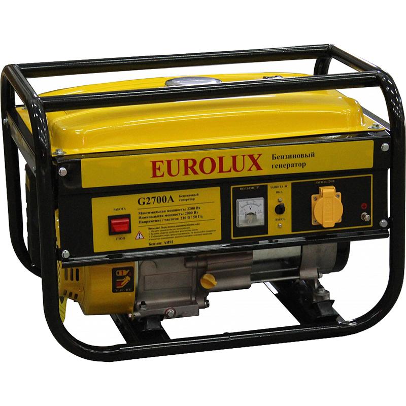 Генератор Eurolux G2700a генератор бензиновый eurolux g3600a