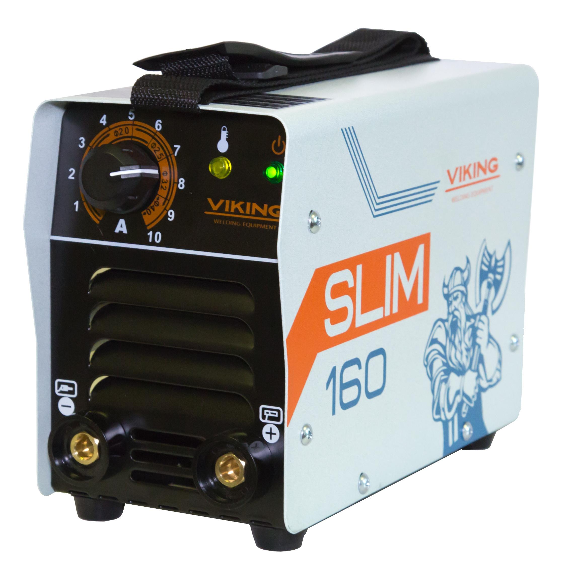 Сварочный аппарат Viking 160 slim (ММА) сварочный трансформатор спец мма 180 ас s