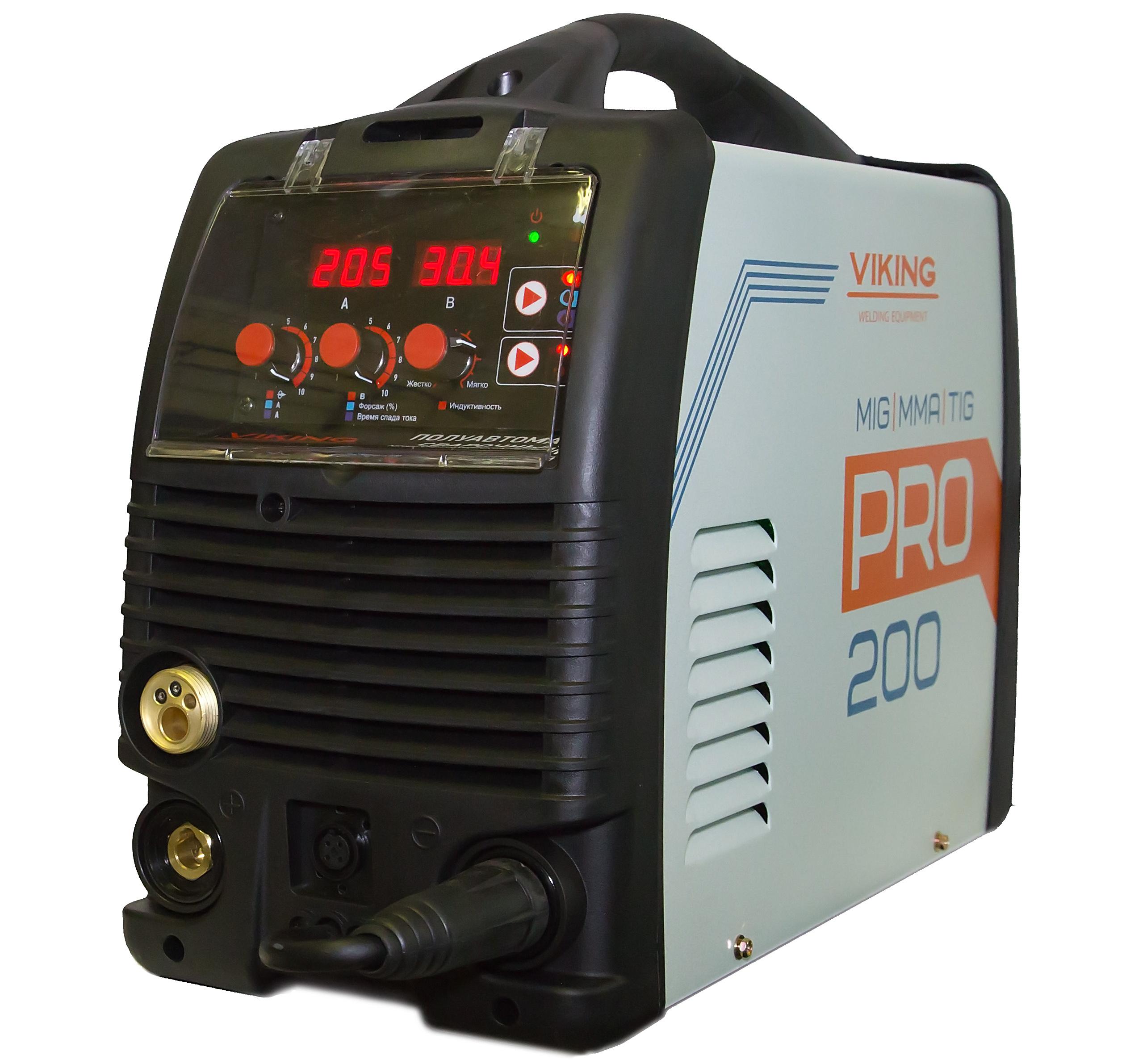 Сварочный аппарат Viking 200 pro сварочный аппарат сварог pro tig 200 p dsp w212