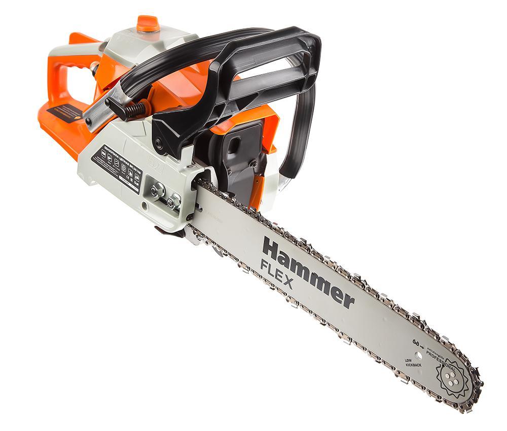 Бензопила Hammer Bpl3816b бензопила hammer flex bpl 2512 b