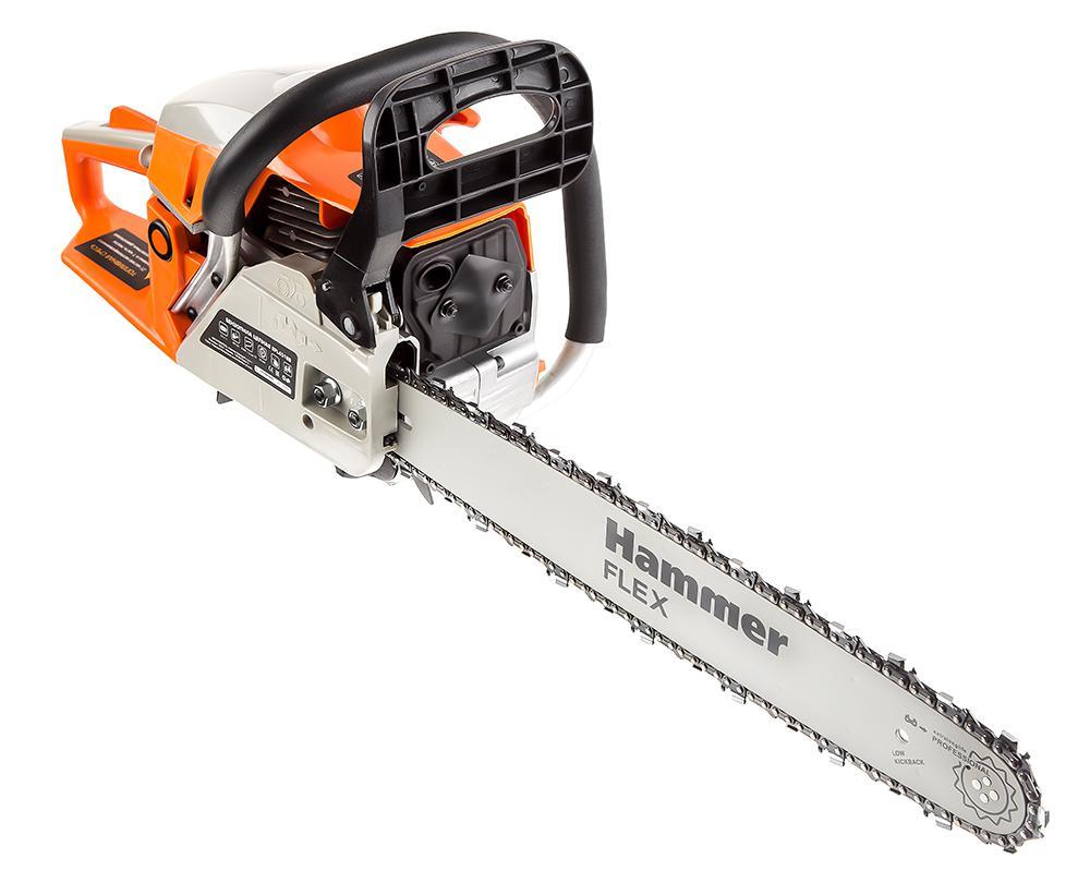 Бензопила Hammer Bpl4518b бензопила hammer flex bpl 2512 b
