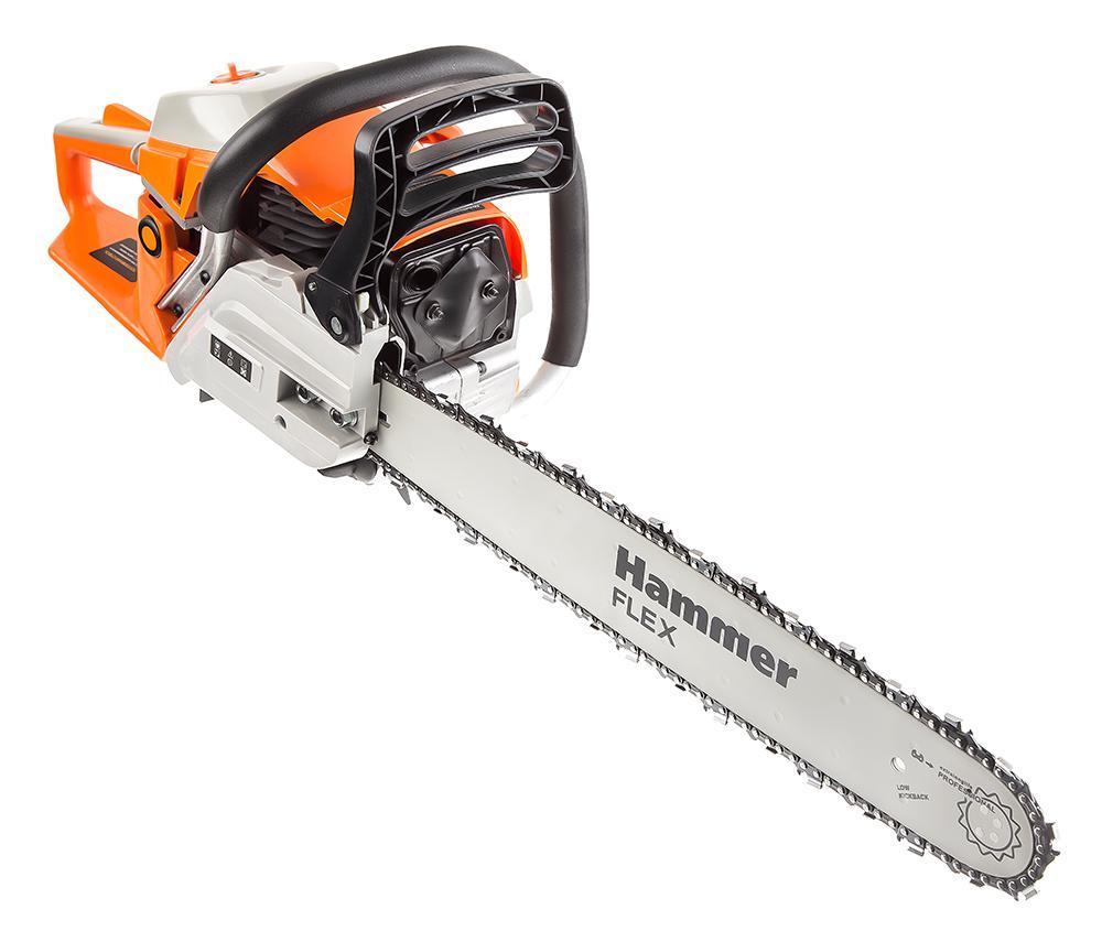 Бензопила Hammer Bpl5220b бензопила hammer flex bpl 2512 b