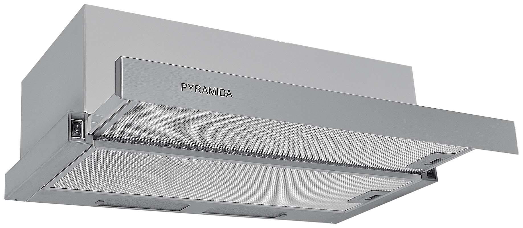 Вытяжка Pyramida Tl 60 ix вытяжка встраиваемая в шкаф 60 см pyramida tl 60 slim br