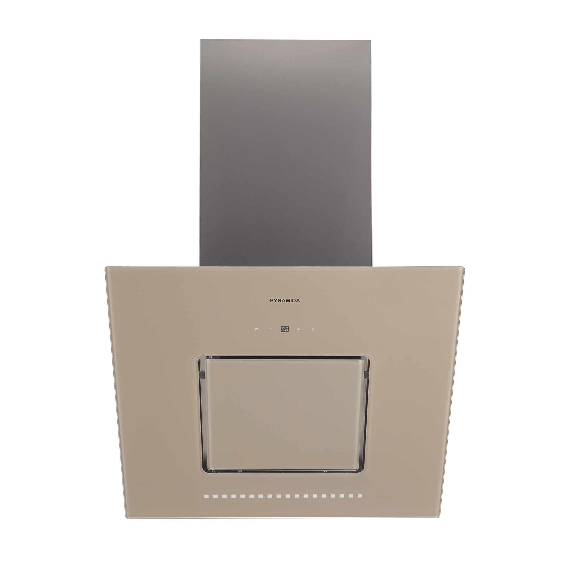 все цены на Вытяжка Pyramida Hes 30 (c-600 mm) sand /aj онлайн