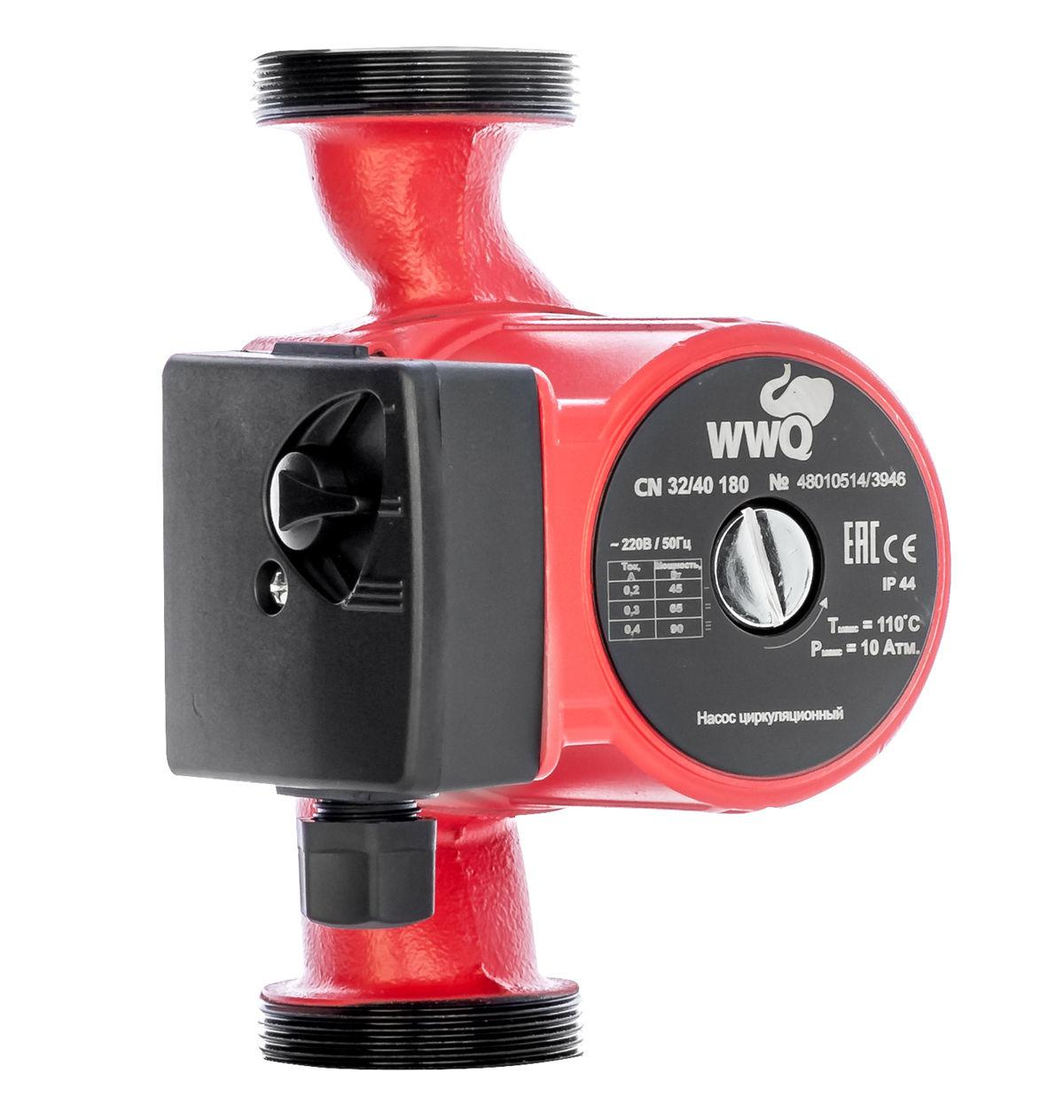 Циркуляционный насос Wwq Cn 32/60-180 циркуляционный насос wwq cn 25 40 180