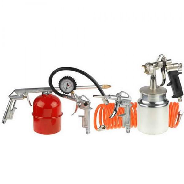 Набор пневмоинструмента Stayer Master 06487-h5 пневматический набор stayer master 5 предметов 06487 h5