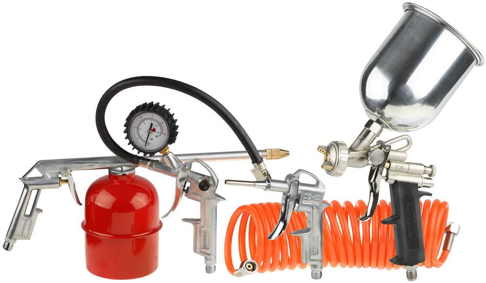 Набор пневмоинструмента Stayer Master 06488-h5 пневматический набор stayer master 5 предметов 06487 h5