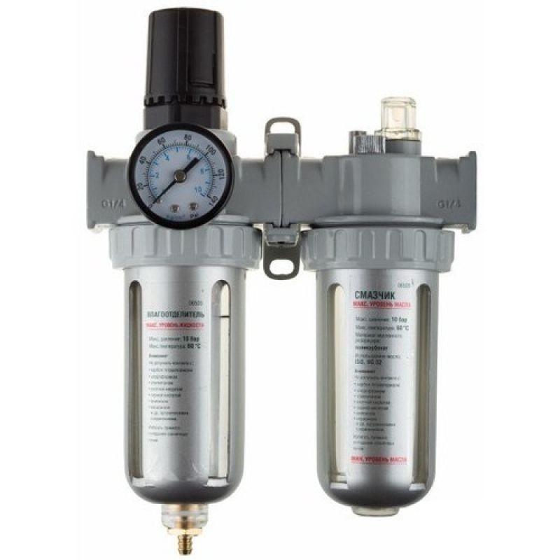 Блок подготовки воздуха Kraftool Industrie qualitat 06505 торцовая головка industrie qualitat 13 мм 1 2 kraftool 27940 13 z01