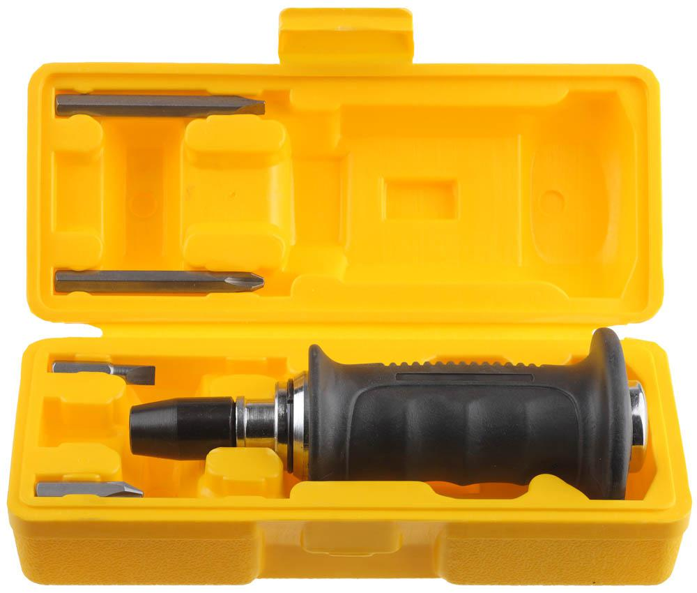 Отвертка Stayer 25663-h4 набор резьбонарезной трубный stayer professional 28260 h4