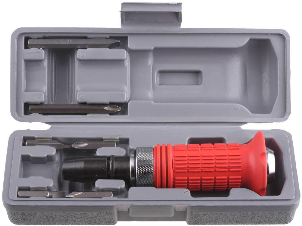 Отвертка Stayer 2566-h4 набор резьбонарезной трубный stayer professional 28260 h4