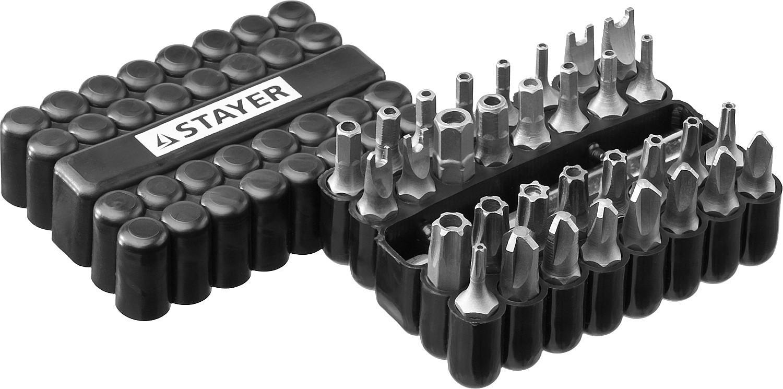 Набор бит Stayer 26084-h33 набор бит kraftool expert 26157 h33
