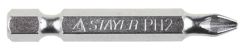 Набор бит Stayer 26209-2-50-10 лента stayer profi клейкая противоскользящая 50мм х 5м 12270 50 05