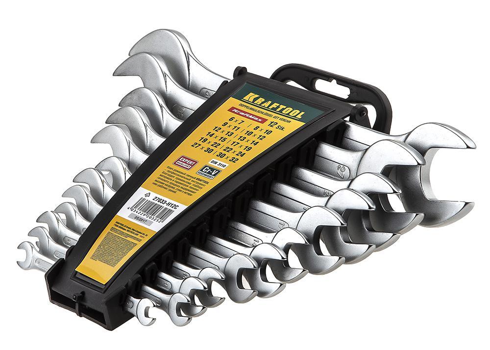 Набор ключей Kraftool 27033-h12c