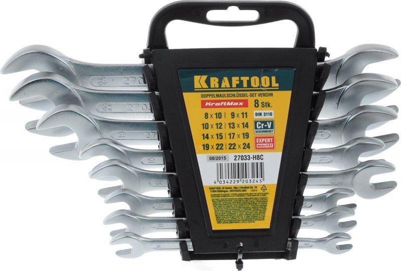 Набор ключей Kraftool 27033-h8c