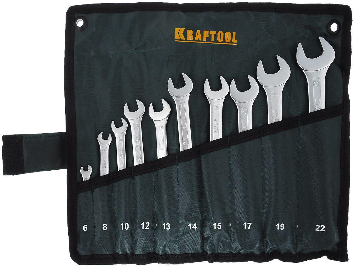 Набор ключей Kraftool 27079-h10