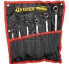 Набор ключей STAYER 27151-H6 (6 - 22 мм)