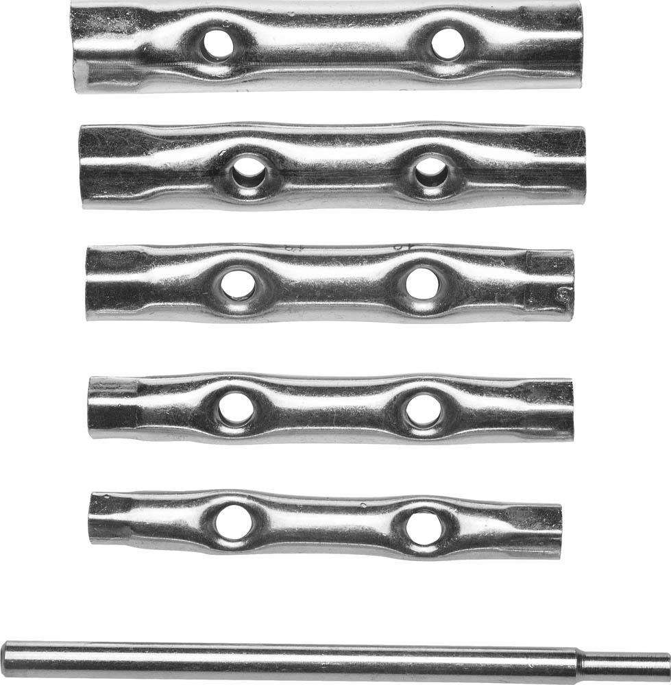 Набор торцевых ключей Stayer 2719-h6 набор ключей трубных stayer 2719 h6