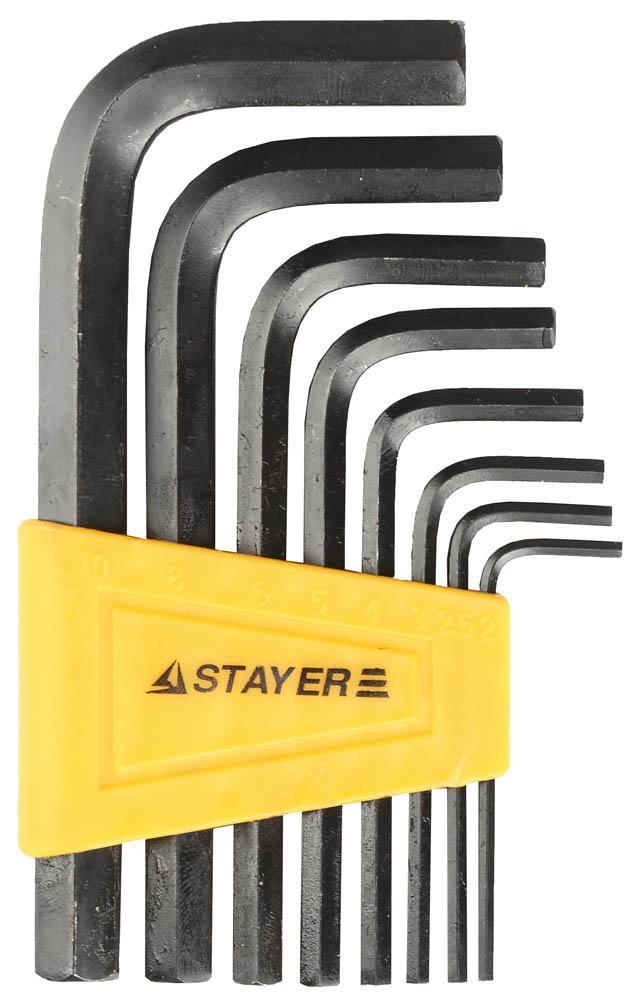 Набор ключей Stayer 27405-h8 набор ключей трубных stayer 2719 h6
