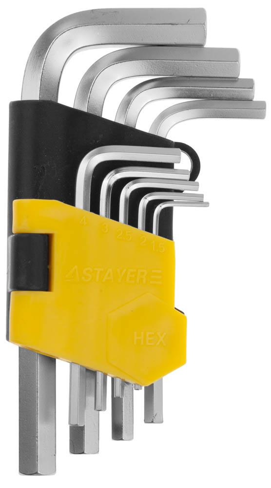 Набор ключей Stayer 2740-h9 набор ключей комбинированных stayer professional 2 271251 h7