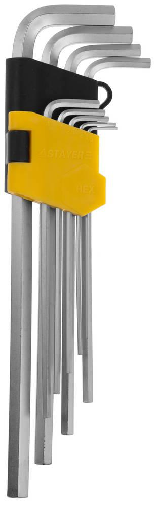 Набор ключей Stayer 2741-h9 набор ключей комбинированных stayer professional 2 271259 h19