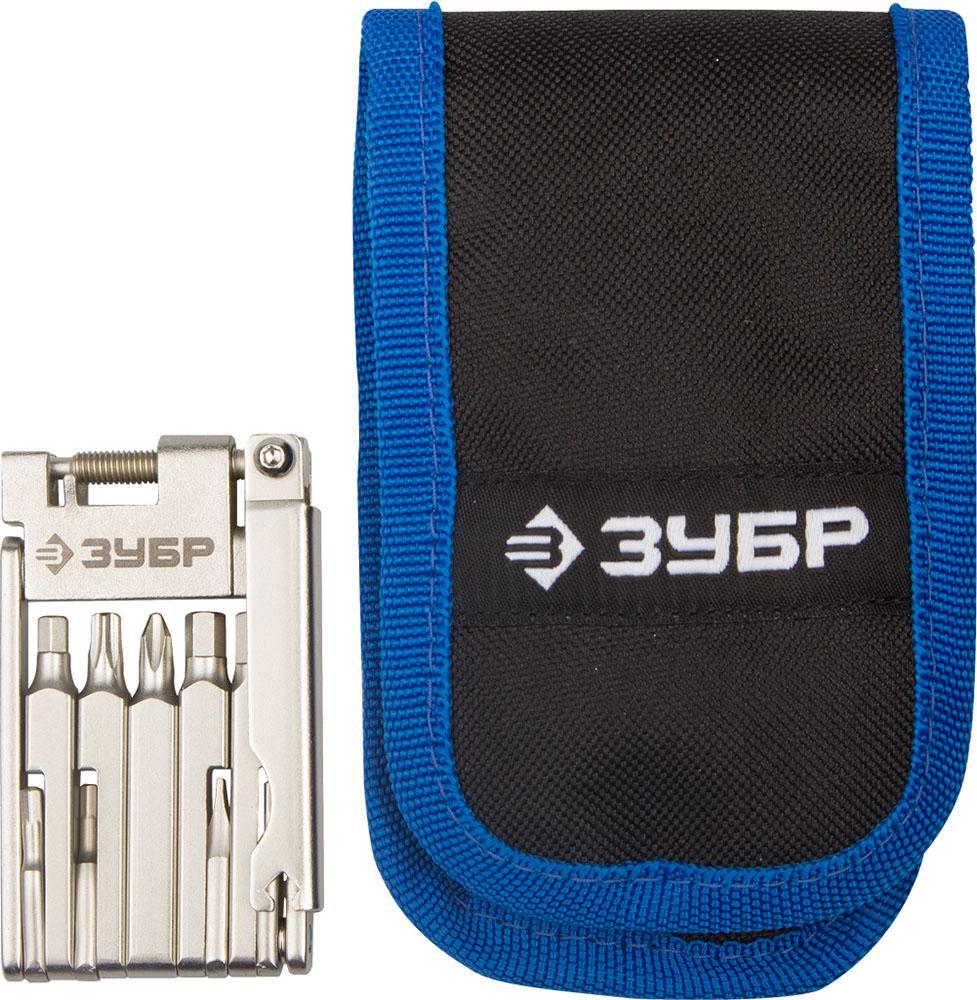 Набор ключей ЗУБР 27428-h16 набор инструментов kraftool для обслуживания велосипеда 16 в 1 26182 h16
