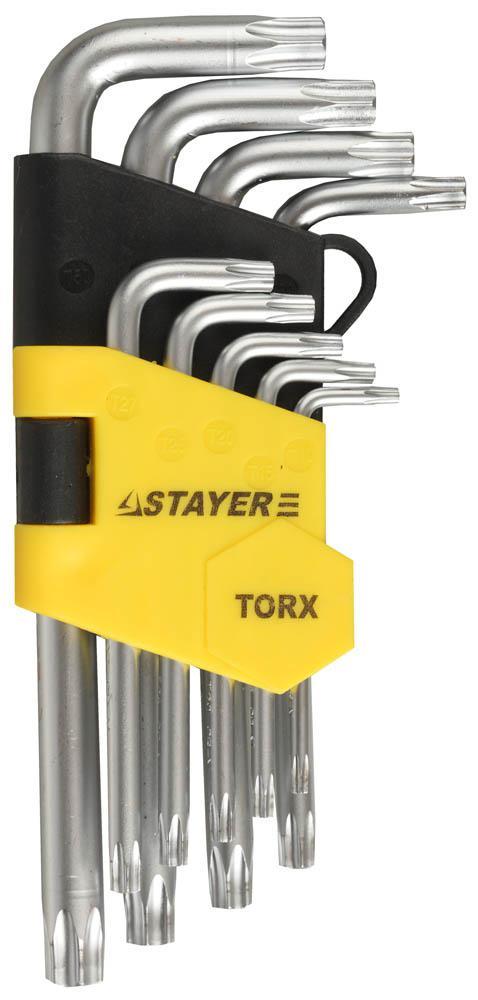 Набор ключей Stayer 2743-h9 набор ключей трубных stayer 2719 h6