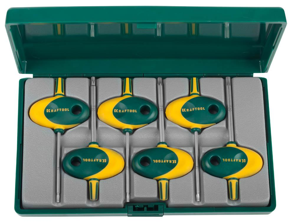 Набор ключей Kraftool 27440-h6 набор ключей трубных stayer 2719 h6