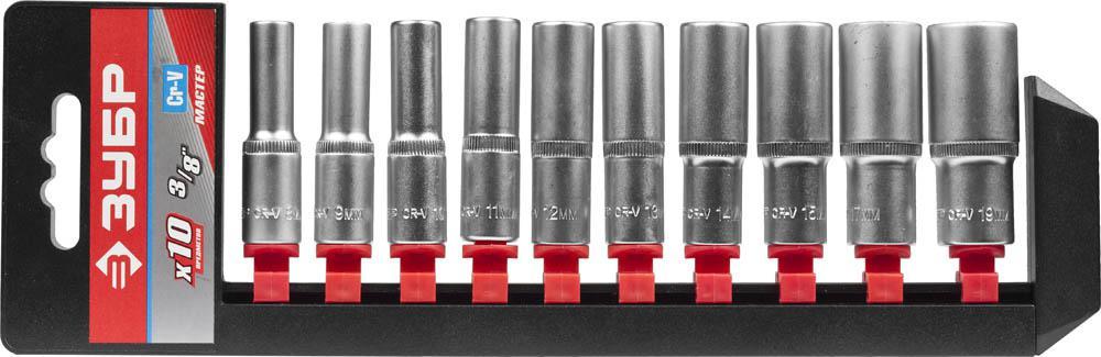 цены на Набор головок ЗУБР 27655-h10  в интернет-магазинах
